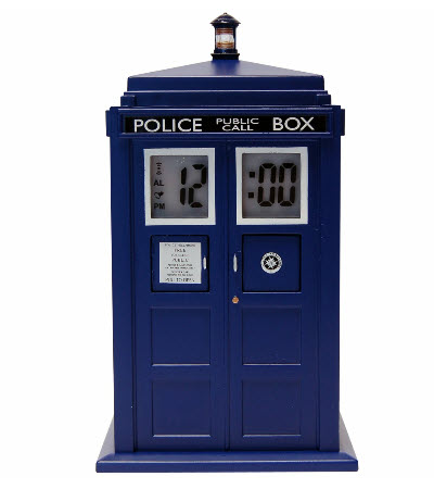 Tardis Projektionswecker- Doctor Who