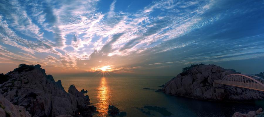 Sonnenaufgang- Tageslicht Wecker