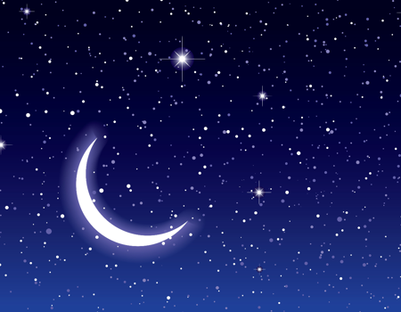 Wecker mit Projektion - Sterne